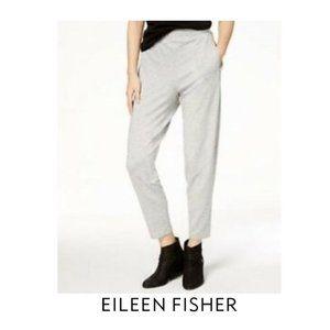 Eileen Fisher tencel terry ankle pants NWT